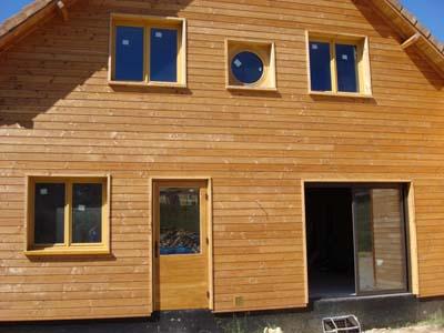 exemples de maison en bois construites par quercy construction bois. Black Bedroom Furniture Sets. Home Design Ideas